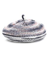 Missoni Multicolor Mütze aus einem Wollgemisch