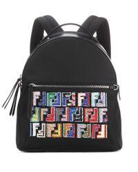 Fendi Black Rucksack für Damen Günstig im Sale