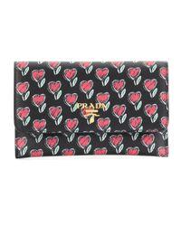 Prada Multicolor Leather Wallet