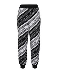 Givenchy Black Jogginghose aus Wolle