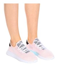 Adidas Originals Pink Sneakers Deerupt Runner