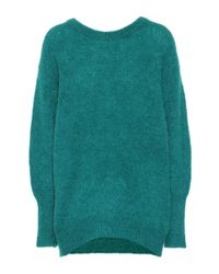 Dorothee Schumacher Green Pullover Cosy Cool mit Mohairanteil