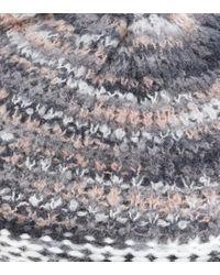 Basco in lana e alpaca di Missoni in Multicolor