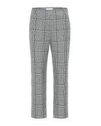 Pantalon Abigail à carreaux Velvet en coloris Multicolor