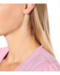 Boucles d'oreilles en argent Double G Gucci en coloris Multicolor