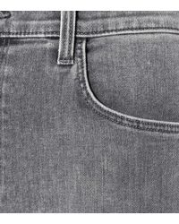 J Brand - Gray Skinny Jeans Carolina - Lyst