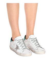 Golden Goose Deluxe Brand White Sneakers Superstar aus Leder