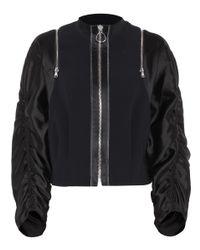 3.1 Phillip Lim Black Batwing Jacket