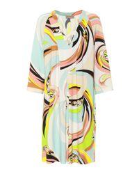 Robe en jersey imprimé Emilio Pucci en coloris Multicolor