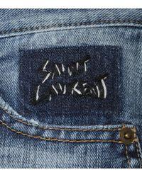 Saint Laurent Blue Slim-fit Jeans