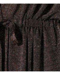 Missoni Maxikleid mit Metallic-Fäden
