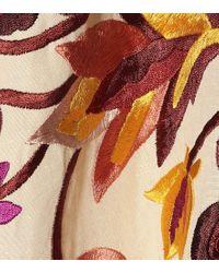 Blusa Simona in lino e cotone di Ulla Johnson in Natural