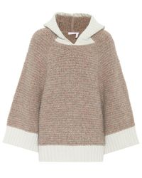 See By Chloé - Brown Knitted Sweater - Lyst