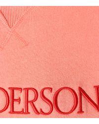 Sweat-shirt en coton brodé J.W. Anderson en coloris Multicolor