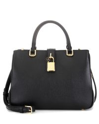 Dolce & Gabbana   Black Dolce Shopping Small Leather Cross-body Bag   Lyst