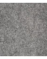 81hours Gray Strickpullover Cast aus Kaschmir