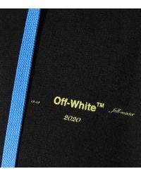 Felpa in cotone con cappuccio di Off-White c/o Virgil Abloh in Black