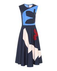 Roksanda Blue Bedrucktes Kleid