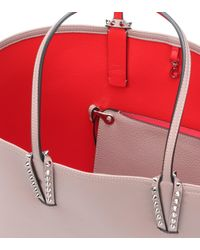 Christian Louboutin Pink Cabata Leather Tote