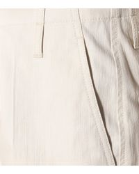 Brunello Cucinelli White Hose aus Baumwolle
