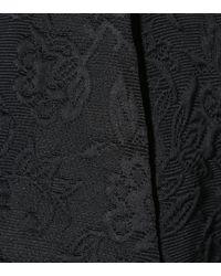 Dolce & Gabbana - Black Floral Jacquard Shorts - Lyst