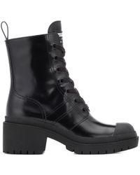 Marc Jacobs Black Boots Bristol aus Leder