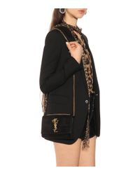 Bolso al hombro Small Kate Saint Laurent de color Black