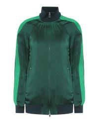 Valentino Green Jacke aus Satin