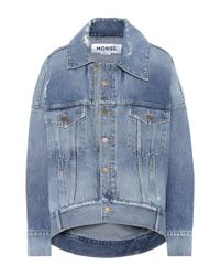 Monse Blue Jeansjacke