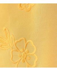 See By Chloé Yellow Sleeveless Silk-blend Dress
