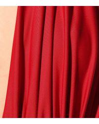 Bañador Mio Norma Kamali de color Red