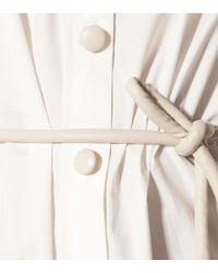 Robe chemise Yoon en coton Nanushka en coloris White