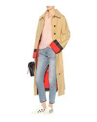 Saint Laurent Pink Pullover mit Mohair- und Wollanteil