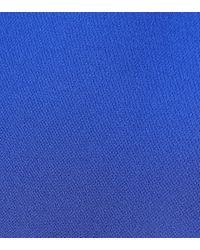 Valentino Blue Minikleid aus Seide