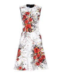 Prada Multicolor Exclusive To Mytheresa. Com – Printed Denim Dress
