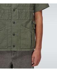 Visvim Green Ketchum Short-sleeved Shirt