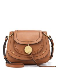 See By Chloé Brown Schultertasche Susie Small aus Leder
