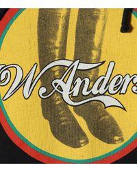 Sweat-shirt à capuche en coton JWA Cola Boots J.W. Anderson en coloris Brown