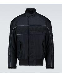 Balenciaga Wattierte Bomberjacke in Black für Herren