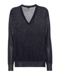 Joseph Blue Cashmere Sweater