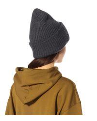 Berretto in lana di Acne in Gray