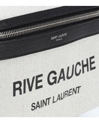Saint Laurent Multicolor City Mini Rive Gauche Backpack