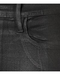 FRAME Multicolor Beschichtete High-Rise Jeans Ali