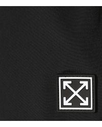 Short évasé Off-White c/o Virgil Abloh en coloris Black