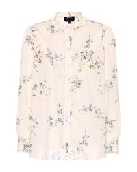 A.P.C. Natural Bluse Polly aus Baumwolle