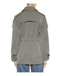 Helmut Lang Green Parachute Jacket