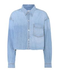 GRLFRND - Blue Christy Denim Jacket - Lyst