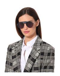 Dior Blue Dior(r)evolution Aviator Sunglasses