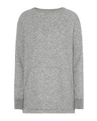 Loro Piana - Gray Kiley Cashmere Sweater - Lyst