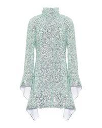 Halpern Green Minikleid mit Pailletten